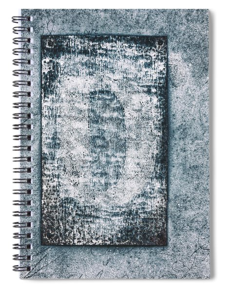 Aged Wall Study 3 Spiral Notebook