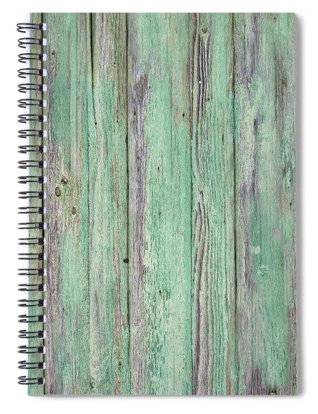 Aged Wood Spiral Notebook