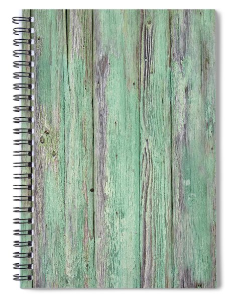Aged Wood Spiral Notebook