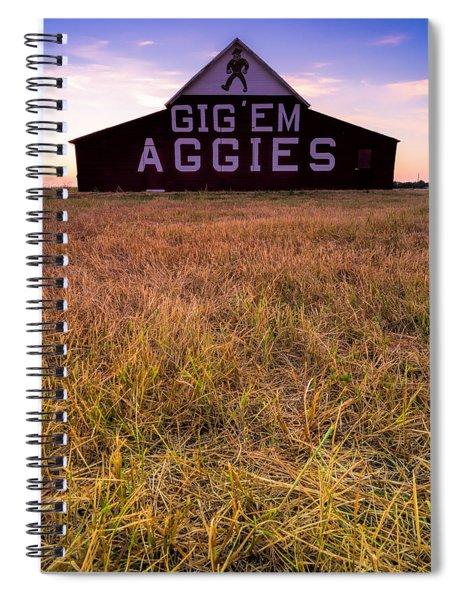 Aggie Land Spiral Notebook