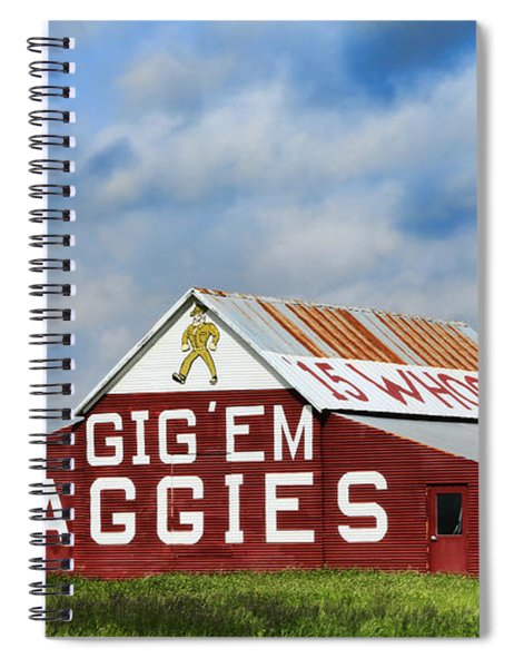 Aggie Nation Barn Spiral Notebook