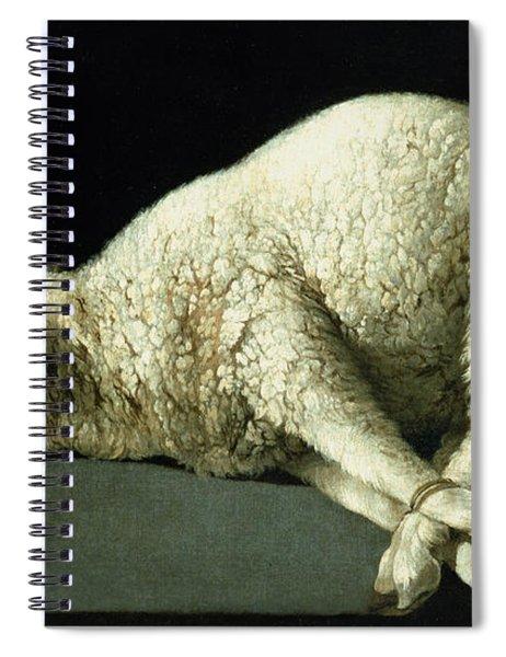 Agnus Dei Spiral Notebook