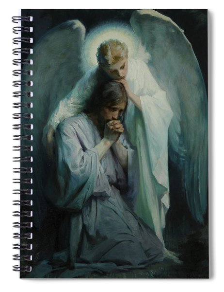 Agony In The Garden, 1898 Spiral Notebook