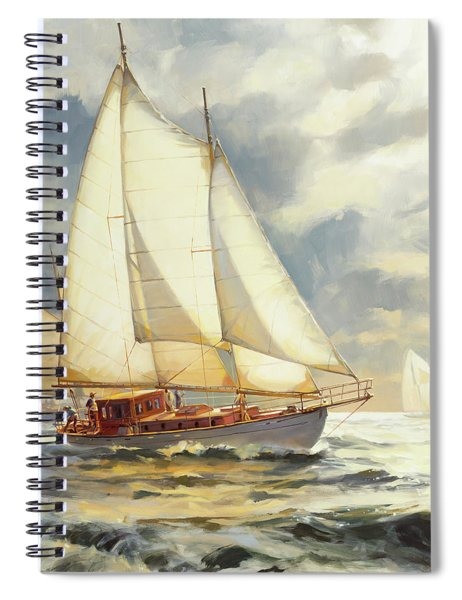 Ahead Of The Storm Spiral Notebook