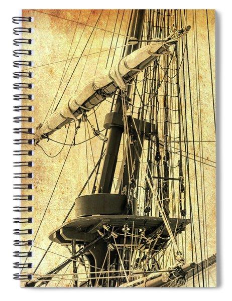 Ahoy Mate Spiral Notebook