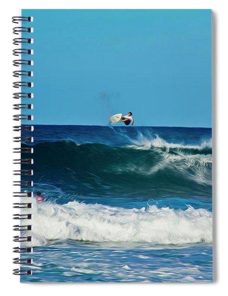 Air Bourne Spiral Notebook