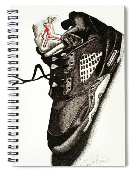 Air Jordan Spiral Notebook