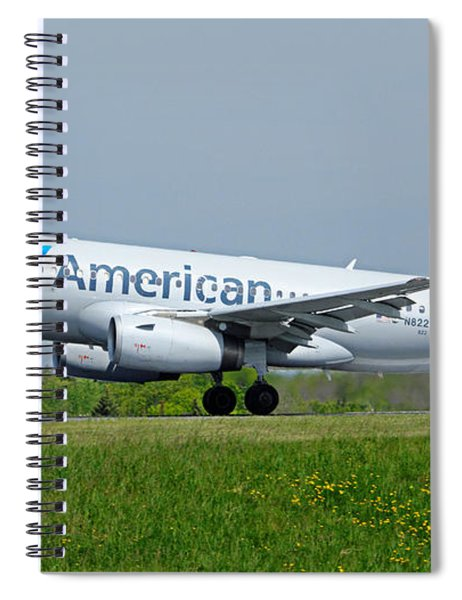 Airbus A319 Spiral Notebook