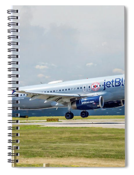 Airbus A320 Boston Strong Spiral Notebook