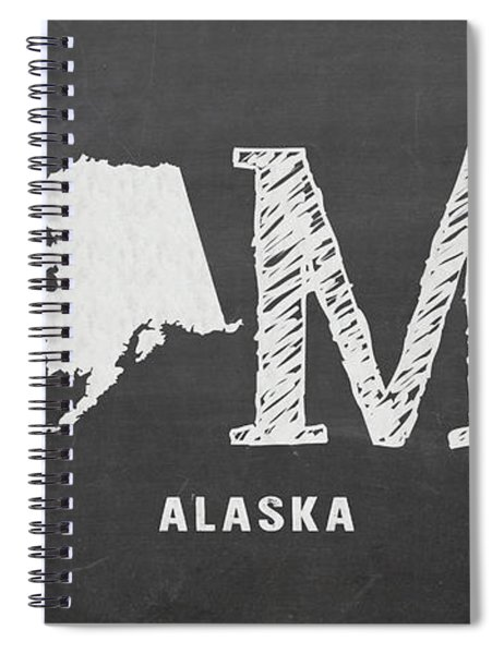 Ak Home Spiral Notebook by Nancy Ingersoll