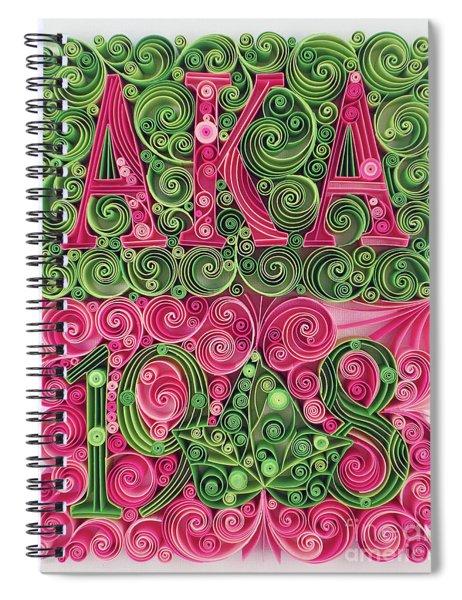 Aka 1908 Spiral Notebook
