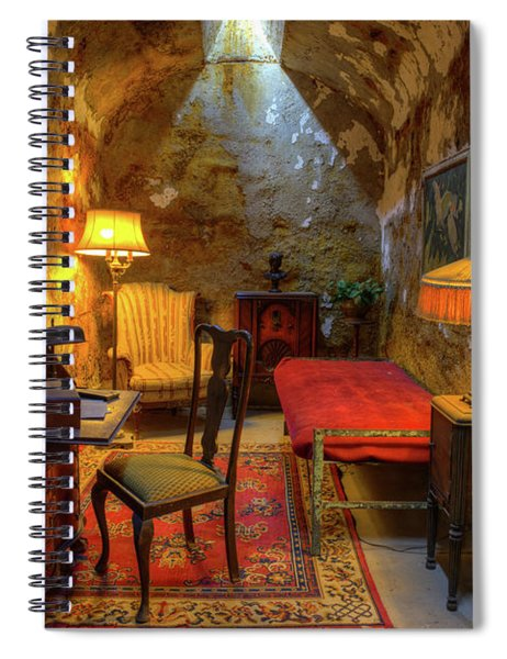 Al Capones Jail Cell Spiral Notebook