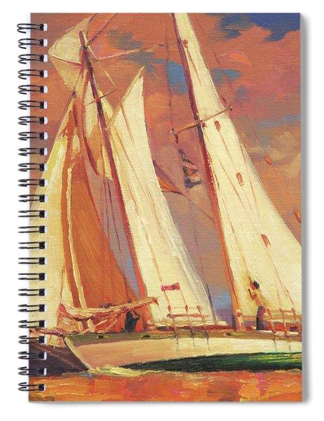 Al Fresco Spiral Notebook