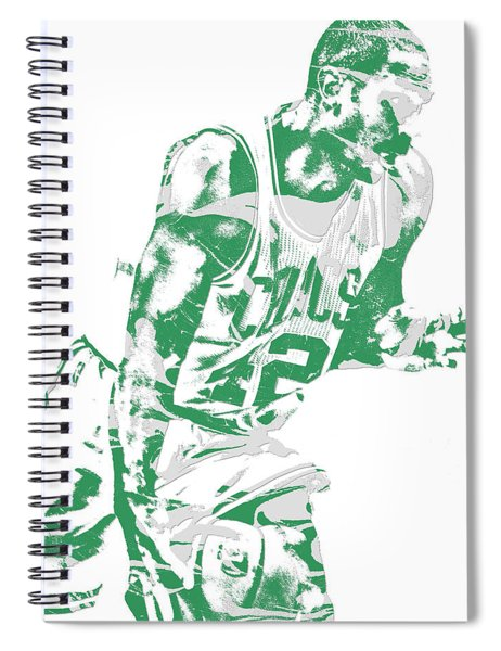 Al Horford Boston Celtics Pixel Art 5 Spiral Notebook