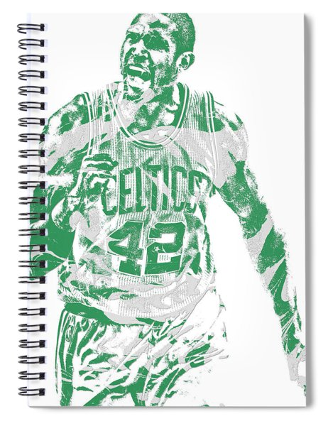 Al Horford Boston Celtics Pixel Art 7 Spiral Notebook
