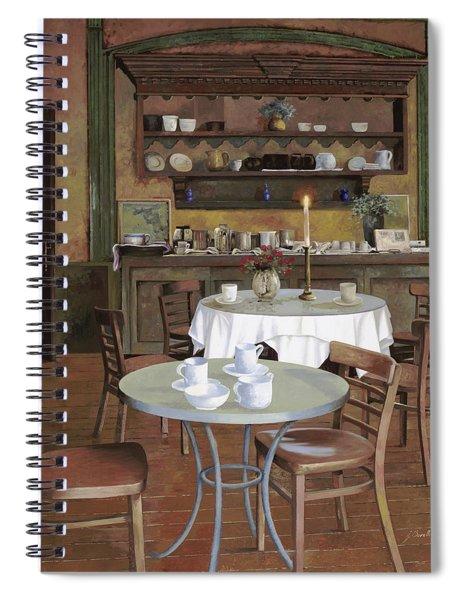 Al Lume Di Candela Spiral Notebook