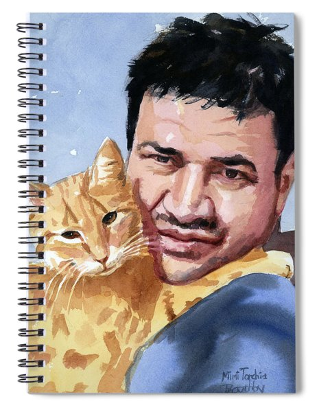 Alaa And Feras Spiral Notebook