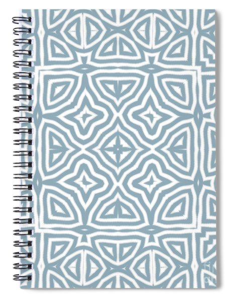 Alahambra Blue Spiral Notebook