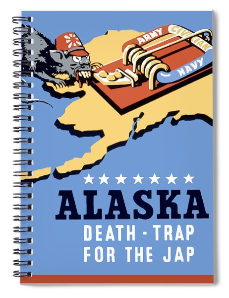 Alaska Death Trap Spiral Notebook