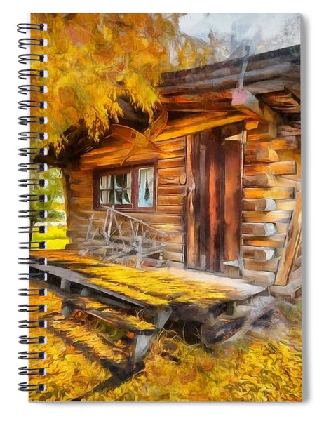 Alaskan Autumn Spiral Notebook