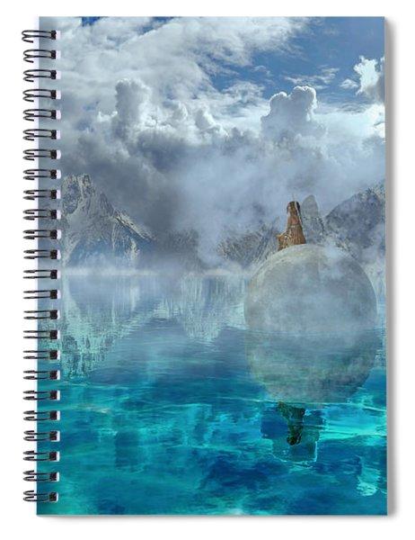 Alaskan Avalon Spiral Notebook