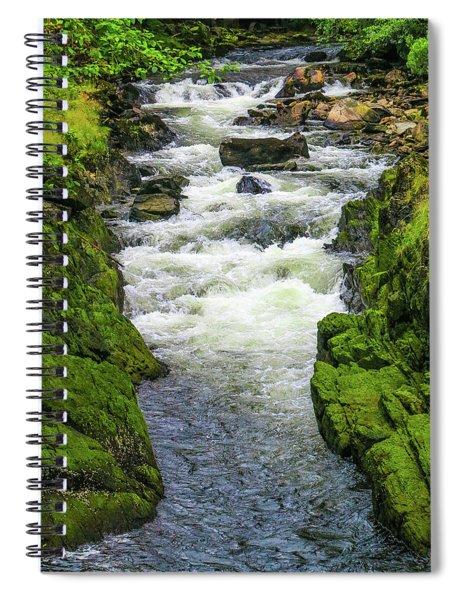 Alaskan Creek Spiral Notebook