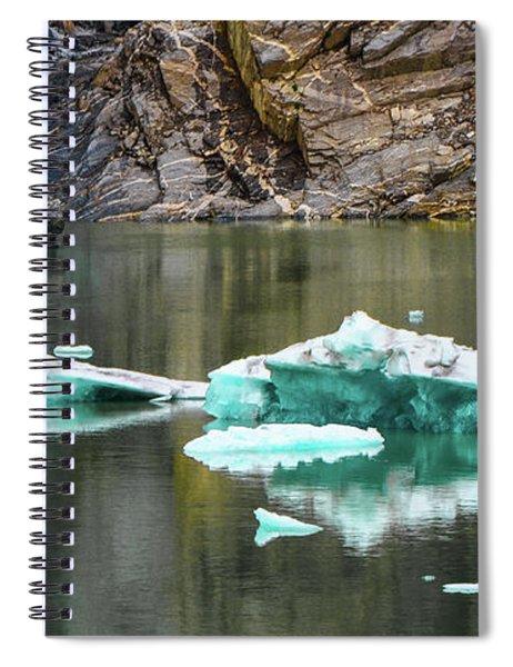 Alaskan Icebergs Spiral Notebook