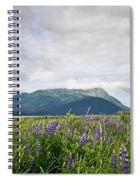 Alaskan Wildflowers Spiral Notebook