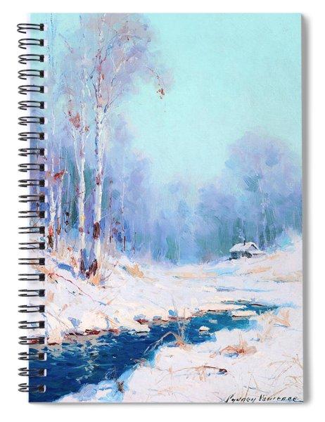 Alaskan Winter Spiral Notebook