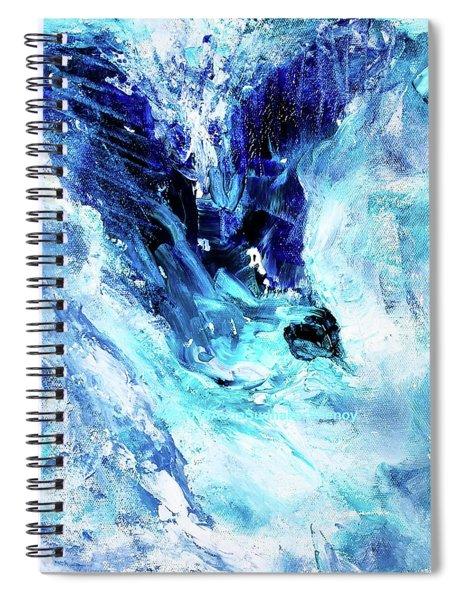 Albatross In Flight Spiral Notebook