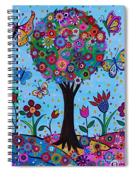 Albero Della Vita Spiral Notebook
