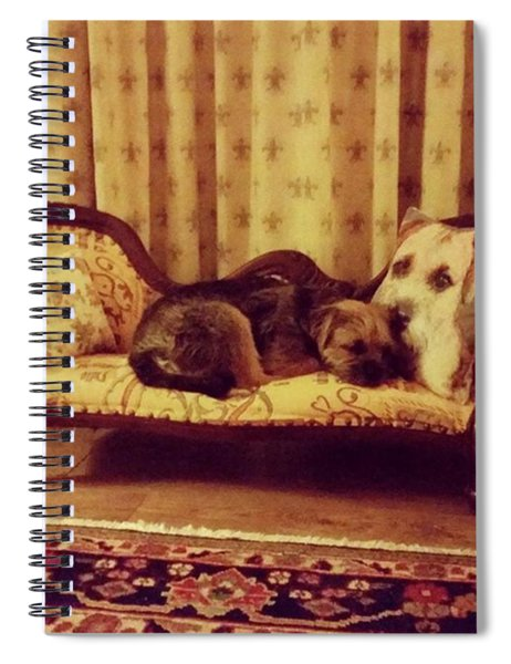 Relax In Style Spiral Notebook