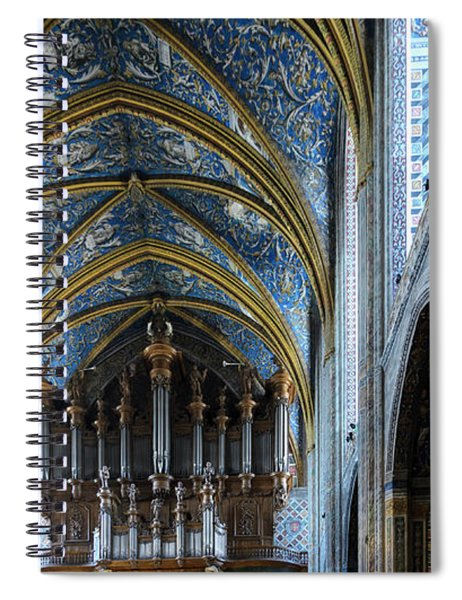 Albi Cathedral Nave Spiral Notebook
