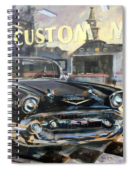 Albion Reflections Spiral Notebook
