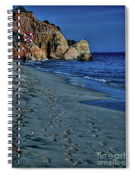 Albufeira Blues Spiral Notebook
