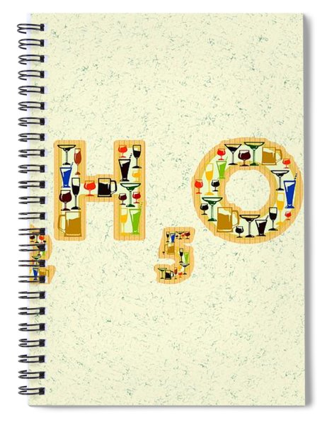 Alcohol Spiral Notebook