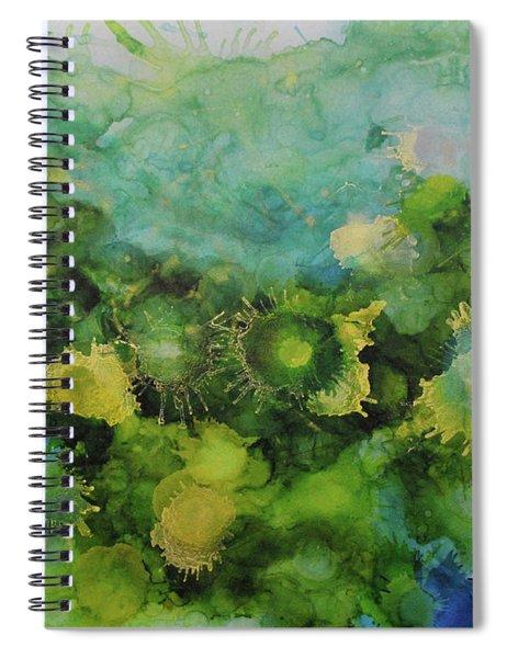 Alcohol Ink 1 Spiral Notebook
