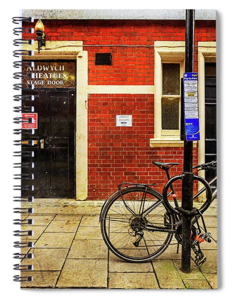Aldwych Theatre Bicycle Spiral Notebook