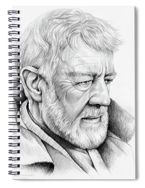 Alec Guinness Spiral Notebook
