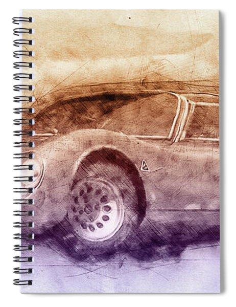 Alfa Romeo 33 Stradale 3 - 1967 - Automotive Art - Car Posters Spiral Notebook