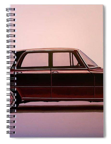 Alfa Romeo Giulia Super 1967 Painting Spiral Notebook