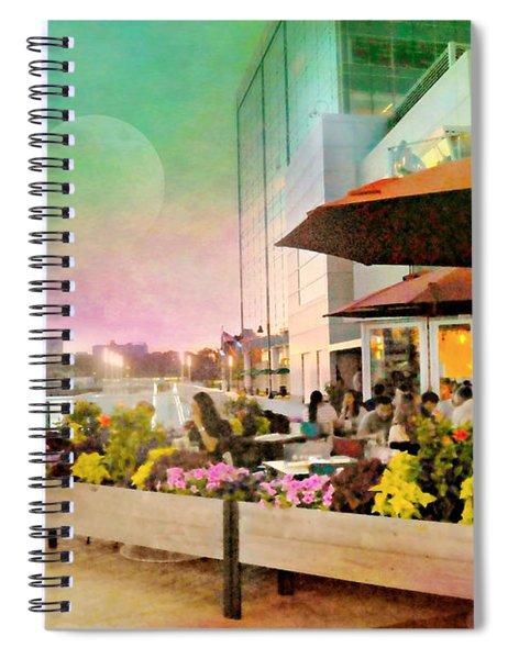 Alfresco Harbor Point Spiral Notebook