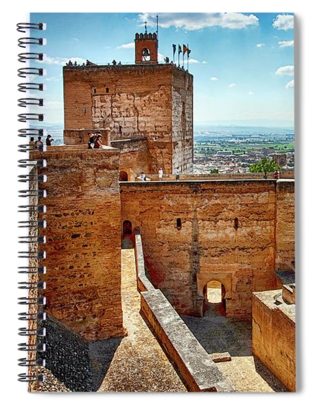 Alhambra Tower Spiral Notebook
