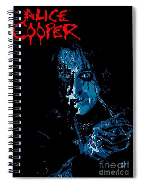 Alice Cooper Spiral Notebook