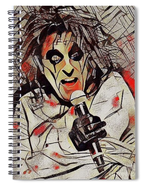 Alice Cooper Spiral Notebook