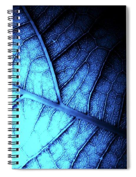 Alien Leaf Spiral Notebook