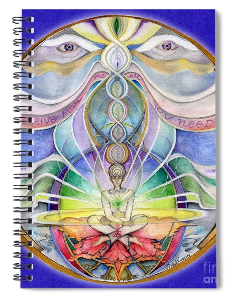 Alignment Mandala Spiral Notebook