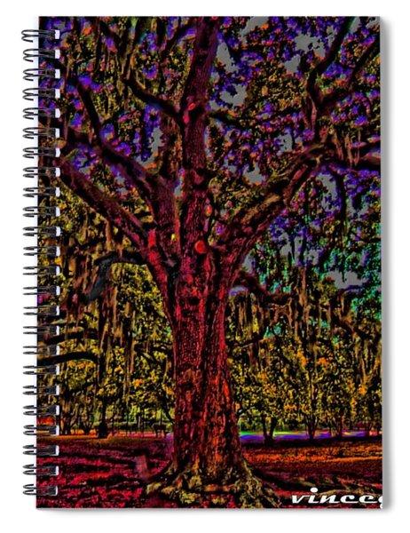 Alive Oak Spiral Notebook