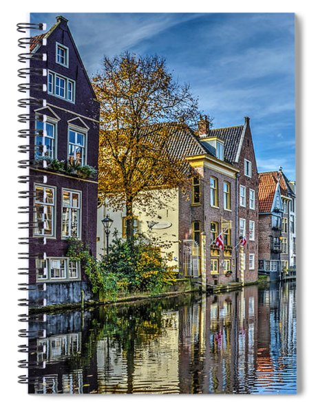 Alkmaar From The Bridge Spiral Notebook
