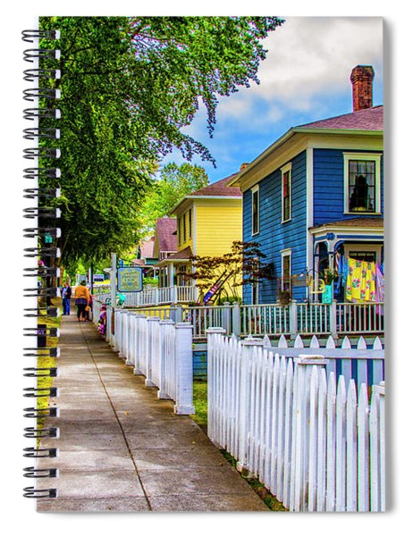 All American Town Spiral Notebook